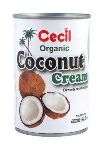 био кокосова сметана органичен продукт 400 мл
