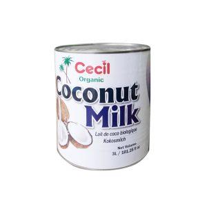 кокосово мляко от биосертифициран производител
